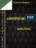 Agatha Christie - Anuntul Mortuar
