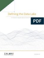 Defining the Data Lake White Paper