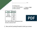 tree diagram hw 3-15