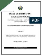 Bases de Licitacion