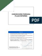 Cap. 8 Convección Forzada Flujo Interno (2013)