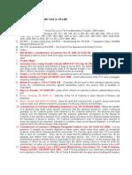Tariffs & Customs Code - C.T.a.