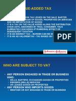 VAT Lecture