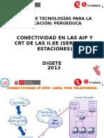 CONECTIVIDAD EN LAS AIP Y CRT DE LAS II.EE (SERVIDOR Y ESTACIONES)( IN 2.3).pptx