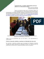 MINSA Acusa a Abogado de IDL de Hacer Denuncia Con Documento Falso.