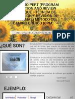 1.1-Método PERT-CPM
