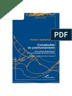 Complexités Du Posthumain