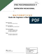 Libro Cenpov Bachillerato Matemáticas 2007 v1.0