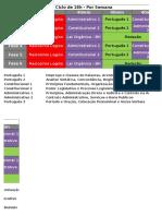 Ciclos de Estudos