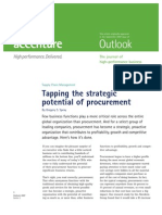Tapping the Strategic Potential of Procurement