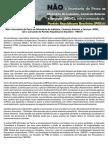 Carta Aberta Contra a Ida Da Pesca Para o MDIC