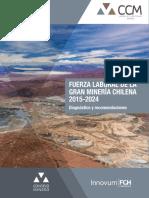 Estudio Fuerza Laboral de La Gran Minería 2015 2024