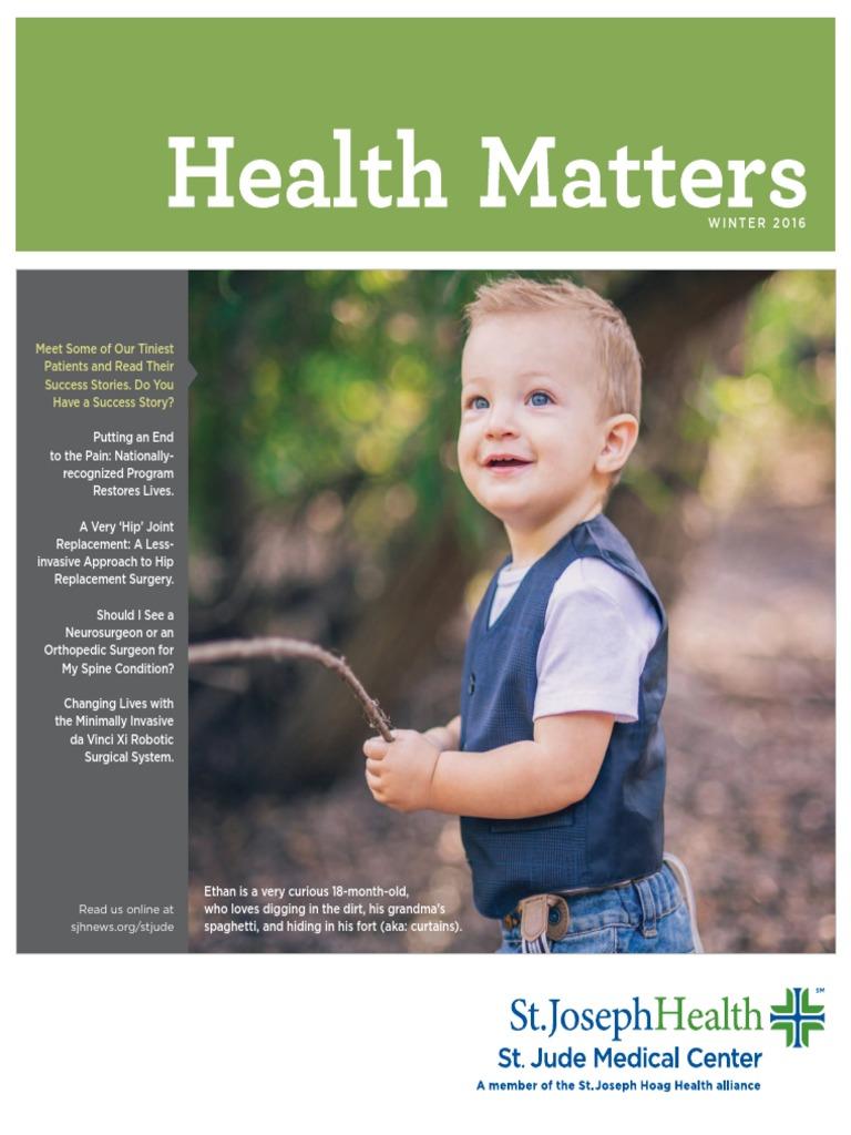 health matters-winter 2016 | Specialty (Medicine) | Massage