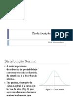 7 Distribuição Normal