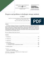 Progress and problems in hydrogen storage methods.pdf
