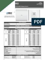 UBiQUiTi PowerBridge M5 Datasheet