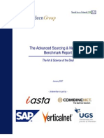 Advanced Sourcing Report
