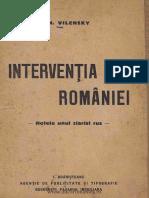 Intervenția României Notele Unui Ziarist Rus