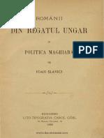 Românii Din Regatul Ungar Şi Politica Maghiară