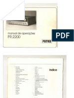 Polyvox PR2200 - Manual