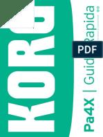 Pa4X Guida Rapida v100 (Italiano)