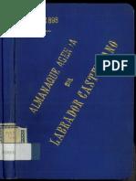 Almanaque Agenda Del Labrador Castellano - Año 1898