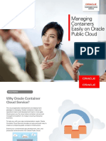 Oracle Container Cloud Service