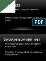 Gender Bias- PPT