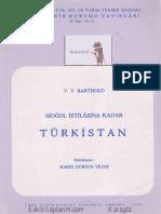 W. Barthold-Moğol İstilasına Kadar Türkistan
