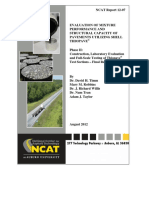 Rep12-07 NCAT Fatigue Cracking