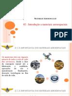 01 b - Introdução Aos Materiais Aeroespaciais