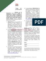 Autorización Tratamiento de Datos PROMICOLDA S.a.