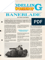 Modelling - Baneblade