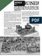 Modelling - Making Ruined Buildings