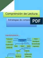 COMPRENSIÓN LECTORA - ESTRATEGIAS