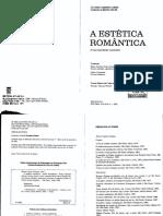 A Estética Romântica, de Álvaro Cardoso Gomes