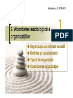 Arhi3_Soc C9 Organizatia 2016