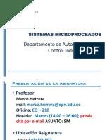 0 Presentacion Del Sistemas Microprocesados