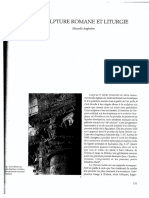 Angheben_Sculpture Roman Et Liturgie