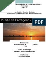 Trabajo de Puerto de Cartagena