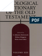 Theological Dictionary of the Old Testament 13