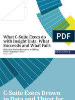 Meeting C-Suite Data and Insight Needs