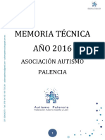 Memoria Tecnica 2016
