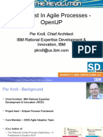 The Latest in Agile Processes - OpenUP v1.0