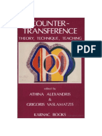 Countertransference - Teorie Si Tehnica