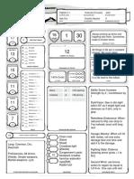 Gell Character Sheet
