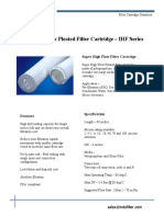 IFS IHF Filter Cartridge