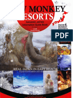 Snow Monkey Resorts Information Guide Book