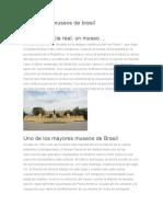 15 Mejores Museos de Brasil