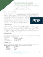 Análisis y Diseño Hidraúlico Desistemas de Subdrenajes en Carreteras